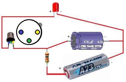 Elettronica led lampeggiante for Costruire un temporizzatore 12v